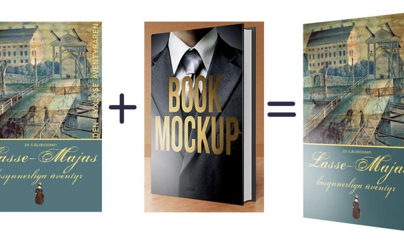 Proffsig produktbild av din bok – använd en mockup